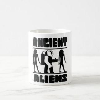 Alte Außerirdische Kaffeetasse