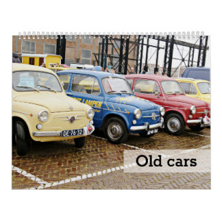 Alte Autos Abreißkalender
