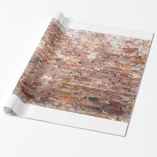 Alte Backsteinmauer Geschenkpapier