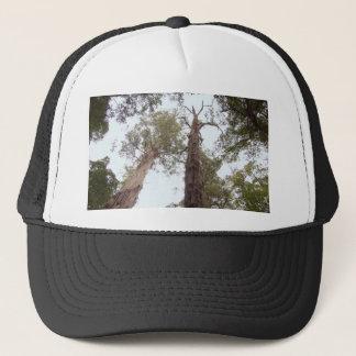 Alte Baumreichweite Tasmaniens für den Himmel Truckerkappe