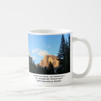 Alte Berge, alte Zitate Kaffeetasse
