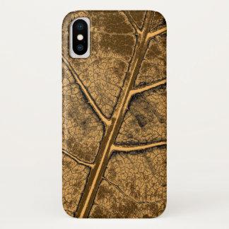 Alte Blatt-schöne Kunst iPhone X Hülle