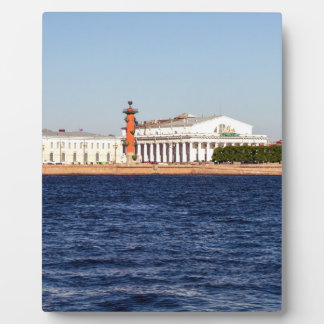 Alte Börse St Petersburg Fotoplatte