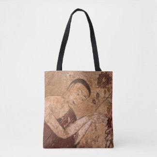 Alte buddhistische Malerei Tasche