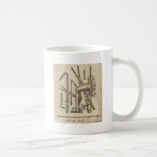 Alte chirurgische Werkzeuge Kaffeetasse