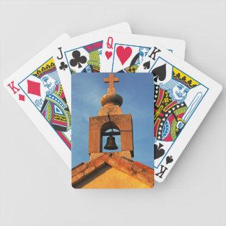 Alte Dorfkirche auf der Insel Pag in Kroatien Bicycle Spielkarten