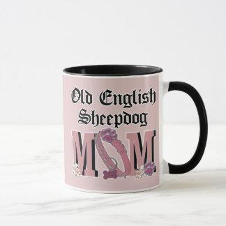 Alte englische Schäferhund MAMMA Tasse