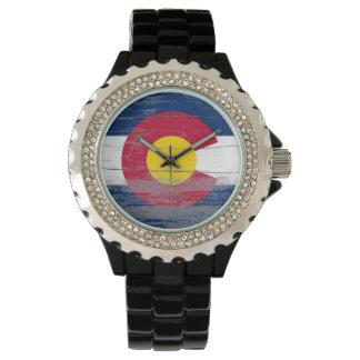 Alte Farben-Uhr Colorados Uhr