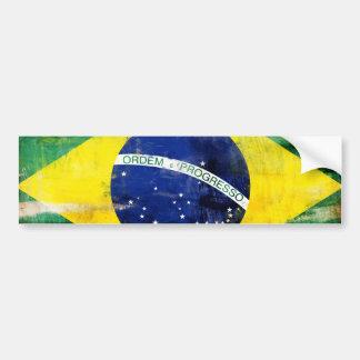 Alte Flagge Brasiliens Auto Sticker
