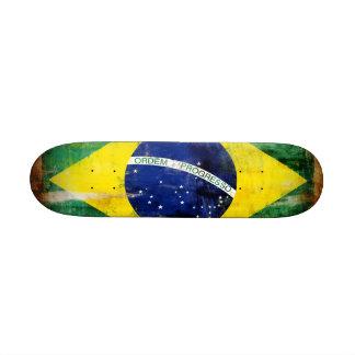 Alte Flagge Brasiliens Individuelle Skateboarddecks