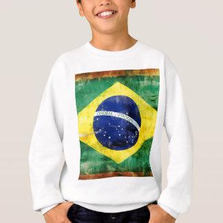 Alte Flagge Brasiliens Sweatshirt