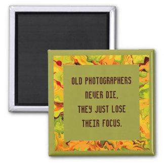 Alte Fotografen die nie Quadratischer Magnet