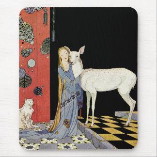 Alte französische Märchen: Bonne-Biche Mousepads