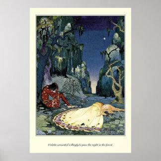 Alte französische Märchen: Die Nacht im Wald Plakat