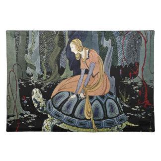 Alte französische Märchen: Durch den Wald Tischset
