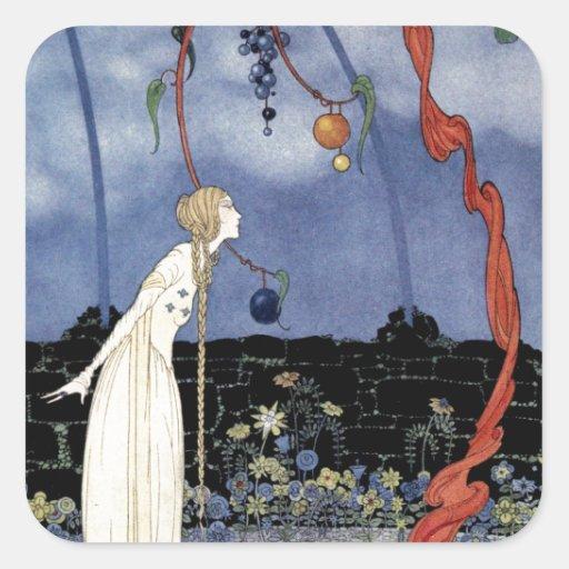 Alte französische Märchen: Ein Baum der erstaunlic Stickers