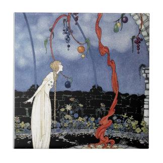 Alte französische Märchen: Ein Baum der erstaunlic Kacheln