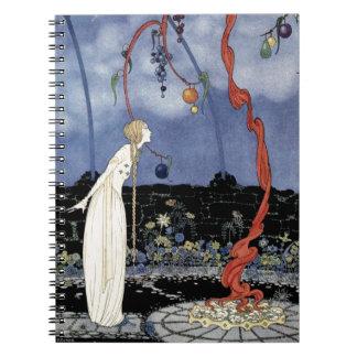 Alte französische Märchen: Ein Baum der erstaunlic Spiralblock