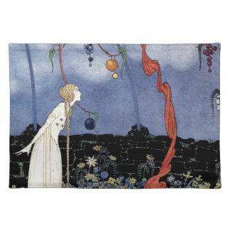 Alte französische Märchen: Ein Baum der erstaunlic Tischsets