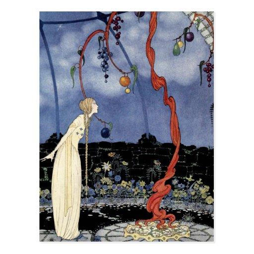 Alte französische Märchen: Ein Baum der Postkarten