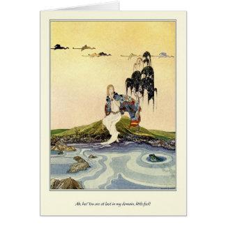 Alte französische Märchen: In meinem Gebiet Grußkarte