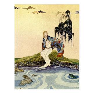 Alte französische Märchen: In meinem Gebiet Postkarte