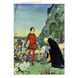 Alte französische Märchen, Virginia Starrett, Karte