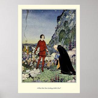 Alte französische Märchen: Was Sie suchend sind Poster