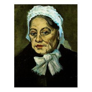Alte Frau/die Hebamme, Vincent van Gogh Postkarte