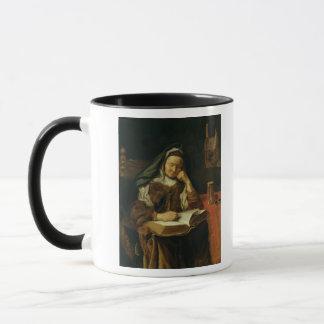 Alte Frauen-Schlafen Tasse