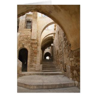 Alte Gasse im jüdischen Viertel, Jerusalem Karte
