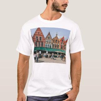 Alte Gebäude Brügges, Reise-Fotografie T-Shirt