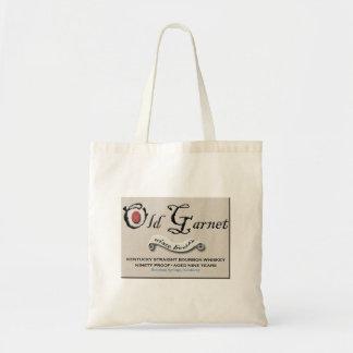 Alte Granats-Logo-Tasche Tragetasche