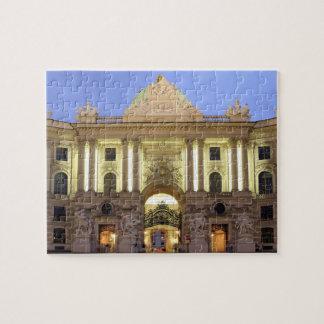 Alte Hofburg nachts in Wien-Foto Puzzle