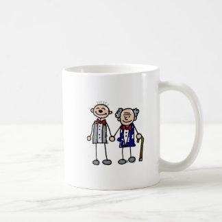 Alte homosexuelle Paare Kaffeetasse