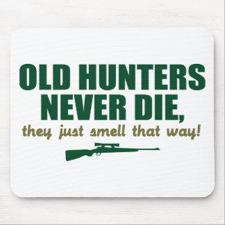 Alte Jäger die nie, sie riechen gerade so Mauspad