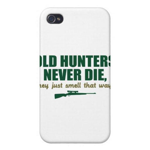 Alte Jäger sterben nie, sie riechen gerade so iPhone 4/4S Cover