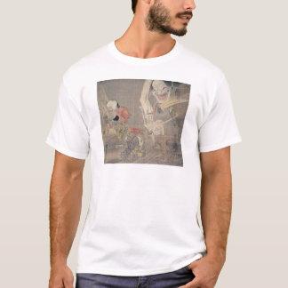 """Alte """"japanische Dämon-"""" Malerei T-Shirt"""