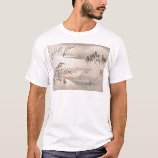 Alte japanische Malerei circa 1800's T-Shirt