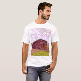 Alte Kabine im Kojote-Shirt durch Jacqueline Kruse T-Shirt