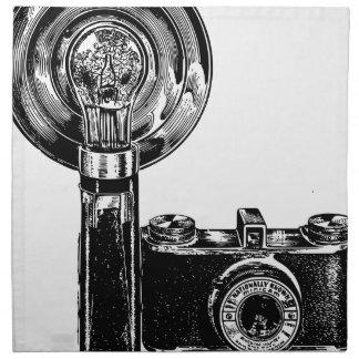 Alte Kamera Serviette
