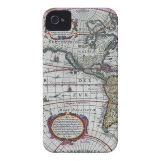 alte Karte Amerika iPhone 4 Hüllen