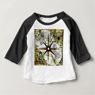 Alte Karte Baby T-shirt