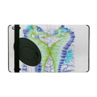 alte Karte der Seepferde iPad Schutzhülle