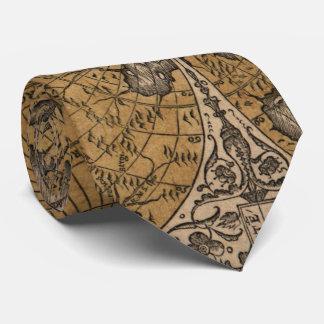 Alte Karte der Welt (1531) Individuelle Krawatten