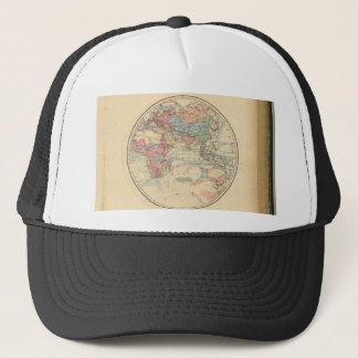 Alte Karte der Welt Truckerkappe