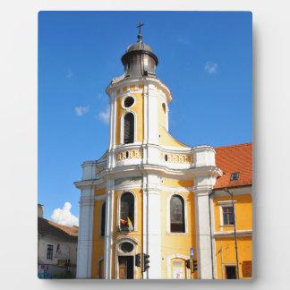 Alte Kirche in Klausenburg Napoca, Rumänien Fotoplatte