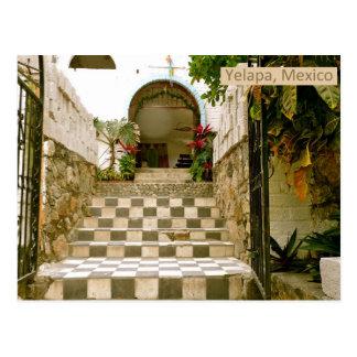 Alte Kirche - Yelapa, Mexiko Postkarte
