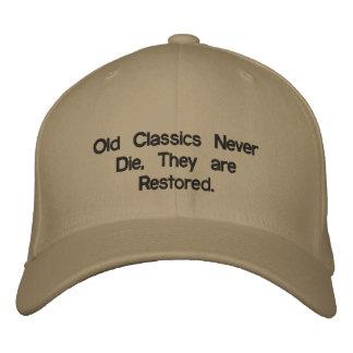 Alte Klassiker sterben nie Bestickte Baseballkappen