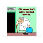 alte Krankenschwestern Postkarten